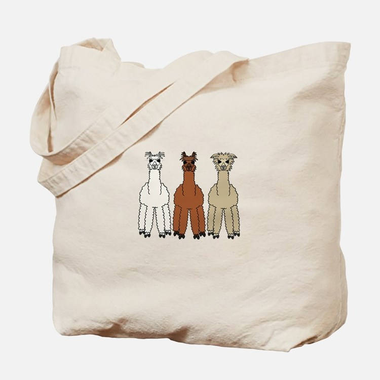 Alpaca (no text) Tote Bag