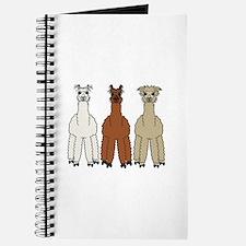 Alpaca (no text) Journal