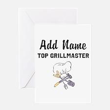 GRILLMASTER Greeting Card