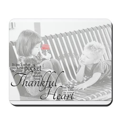 Thankful Heart Mousepad