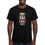 USS AYLWIN Men's Fitted T-Shirt (dark)