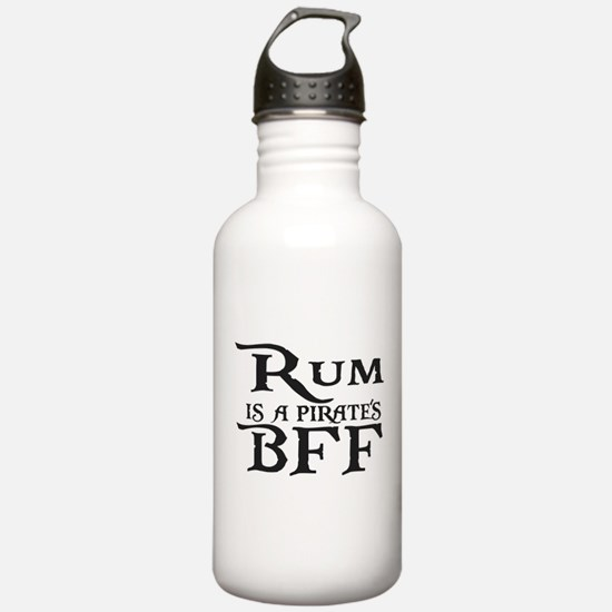 Rum is a Pirates BFF Water Bottle