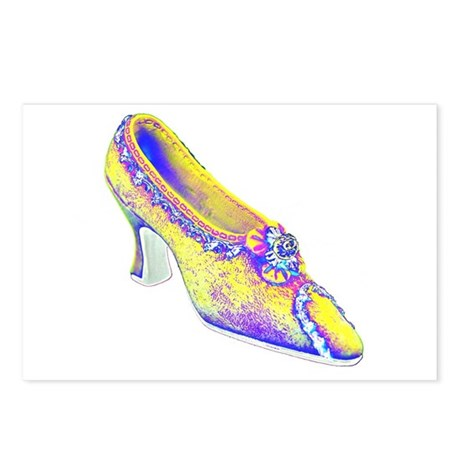 Victorian Shoe (04) Postcards (Package of 8)