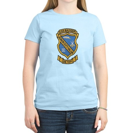 USS BADGER Women's Light T-Shirt