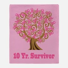 Breast Cancer 10 Year Survivor Gift Stadium Blank