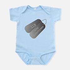 11B infantryman Infant Bodysuit
