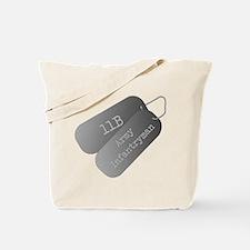 11B infantryman Tote Bag
