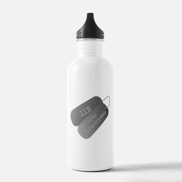 11B infantryman Water Bottle