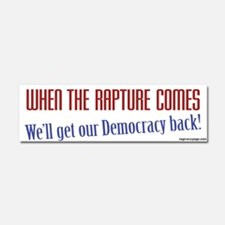 Get Our Democracy Back Car Magnet 10 x 3
