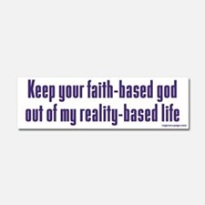Keep Your Faith-Based God Car Magnet 10 x 3