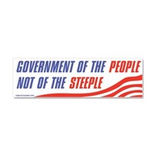 Govt of the People Car Magnet 10 x 3
