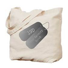 19D Army Cavalry Scout Tote Bag