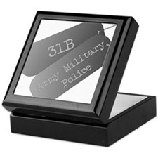 31B Army Military Police Keepsake Box