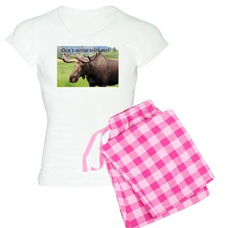 Don't moose with me! Women's Light Pajamas