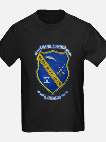 USS BADGER T