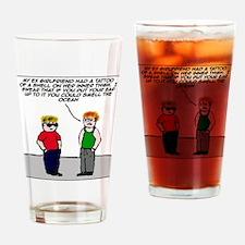 The tattoo Drinking Glass