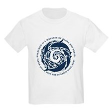 Kai Palaoa supports SAVE JAPAND DOLPHINS T-Shirt
