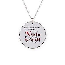 Bass Guitar Ninja Necklace