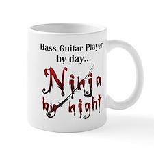 Bass Guitar Ninja Mug