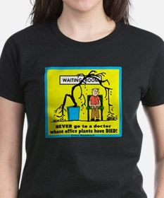 Never Go To A Doctor-Erma Bombeck/t-shirt Tee