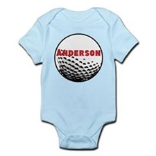 Personalized Golf Infant Bodysuit
