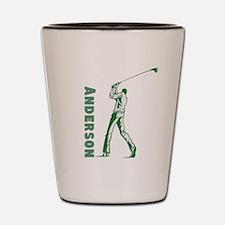 Personalized Golf Shot Glass