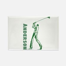 Personalized Golf Rectangle Magnet