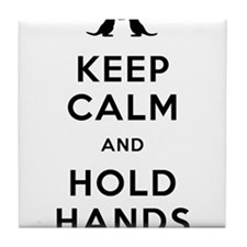 Keep Calm and Holds Hands (Otters holding hands, b