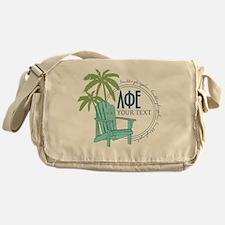 Lambda Phi Epsilon Beach Messenger Bag