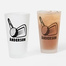 Personalized Golf Drinking Glass