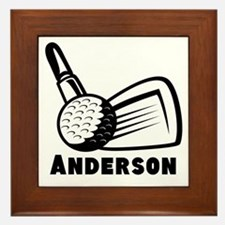 Personalized Golf Framed Tile