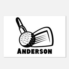 Personalized Golf Postcards (Package of 8)