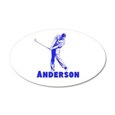 Personalized Golf Wall Decal