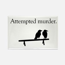 Attempted Murder Rectangle Magnet (10 pack)