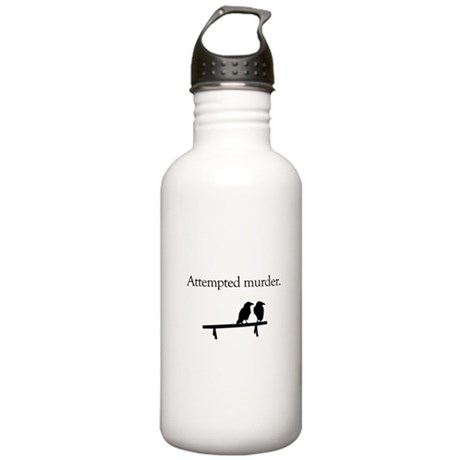 Attempted Murder Stainless Water Bottle 1.0L