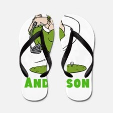 Personalized Golf Flip Flops