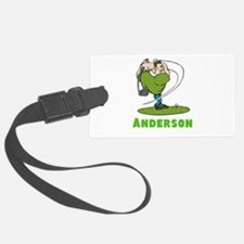 Personalized Golf Luggage Tag