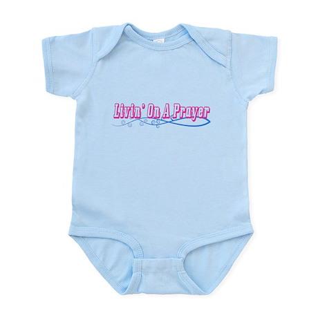 Livin On A Prayer Infant Bodysuit
