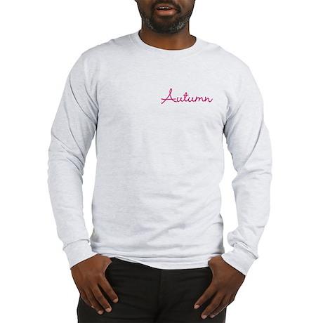 Autumn Centered Long Sleeve T-Shirt