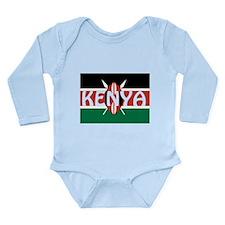 Kenya Long Sleeve Infant Bodysuit