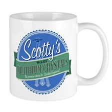 Scottys M-Class Dilithium Crystals Mug