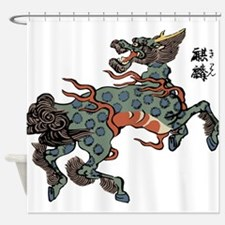 japstyelcreature2.png Shower Curtain