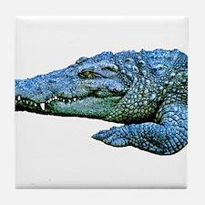 Mad Crocodile Tile Coaster
