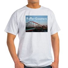Sunset Coasters Ash Grey T-Shirt
