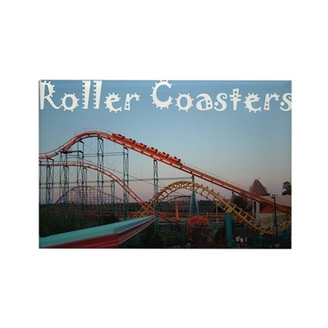 Sunset Coasters Rectangle Magnet