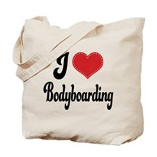 I Love Bodyboarding Tote Bag
