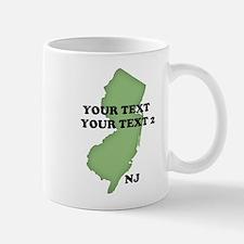 NJ YOUR TEXT Mug