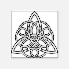"""Knot Design Square Sticker 3"""" x 3"""""""