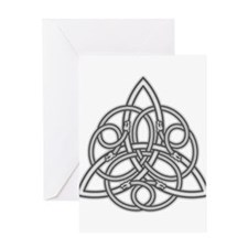 Knot Design Greeting Card