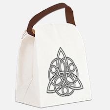 Knot Design Canvas Lunch Bag